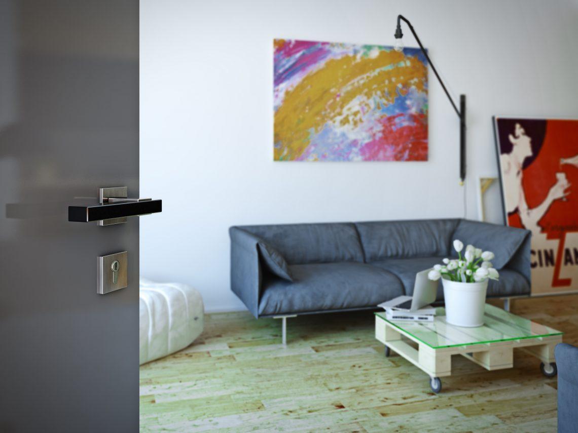 Italiaans design: deurklink Join van Frascio via Dauby #interieur