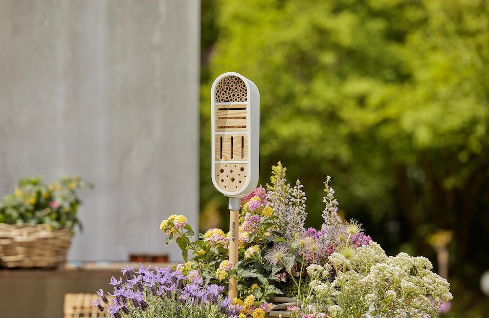 Insectenhotel gardena Clickup #insectenhotel #insecten #bijen #tuin #tuinidee #tuininspiratie