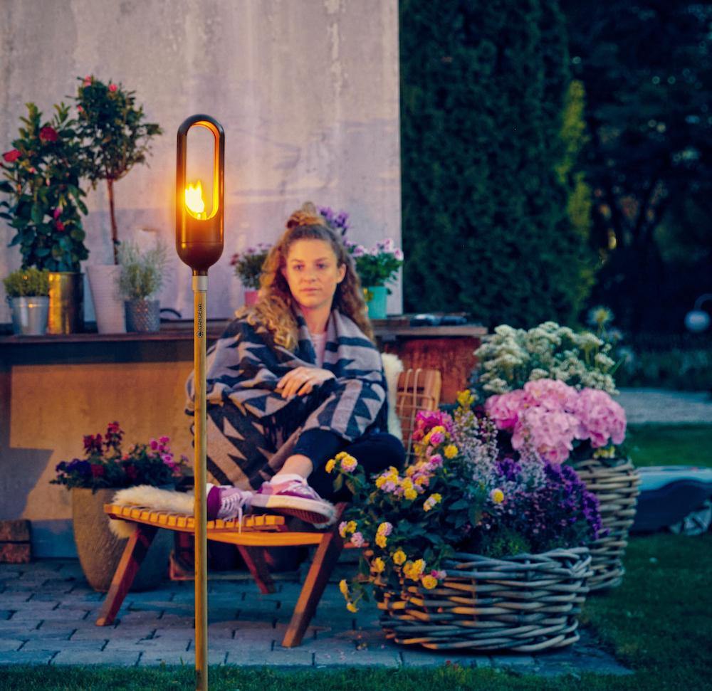 TuinfakkelGardena clickup #tuin #fakkel #tuinfakkel #gardena #tuinverlichting #tuinidee