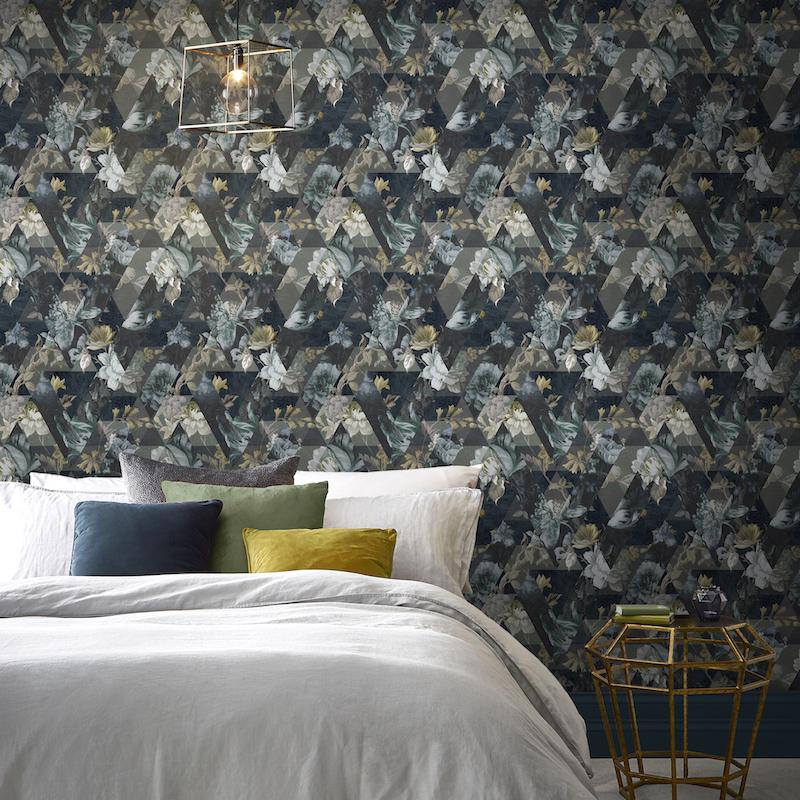 Behang slaapkamer #slaapkamer #behang #grahambrown