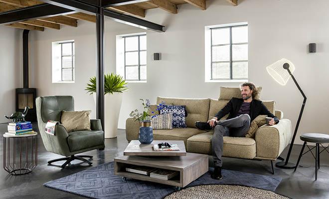 Henders & Hazel meubels zitkamer. Vraag het gratis woon- inspiratiemagazine aan! #meubels #interieurinspiratie #hendershazel #woonmagazine