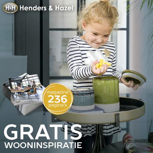 Gratis wooninspiratie, interieurtips en trends in de Henders & Hazel catalogus
