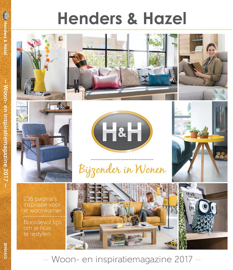 Vraag hier het gratis woon- en inspiratie magazine aan van Henders & Hazel #magazine #interieur #inspiratie