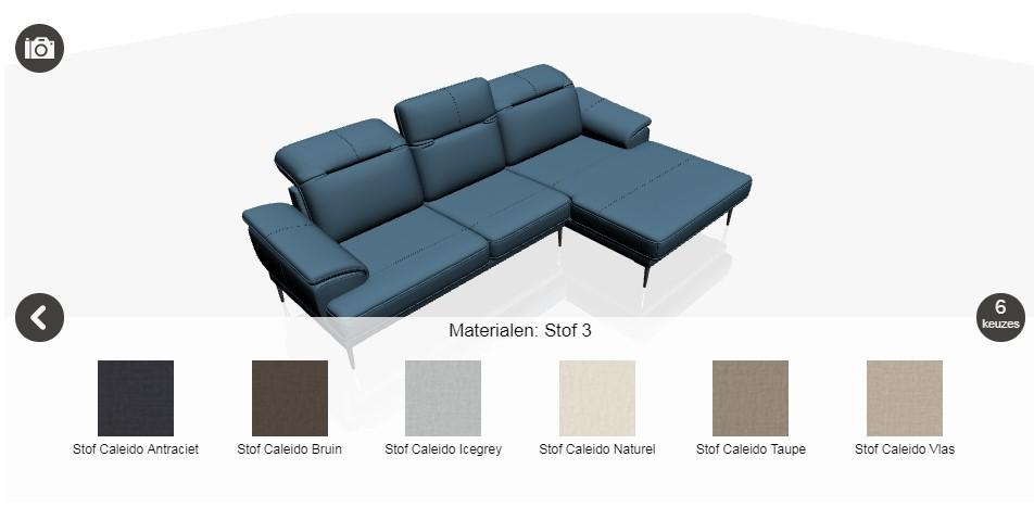 Henders & Hazel heeft een 3D configurator op de site. Die helpt je stap voor stap bij het samenstellen van je ideale zitbank, hoekbank, bank en meubels #hendershazel #zitbank #bank