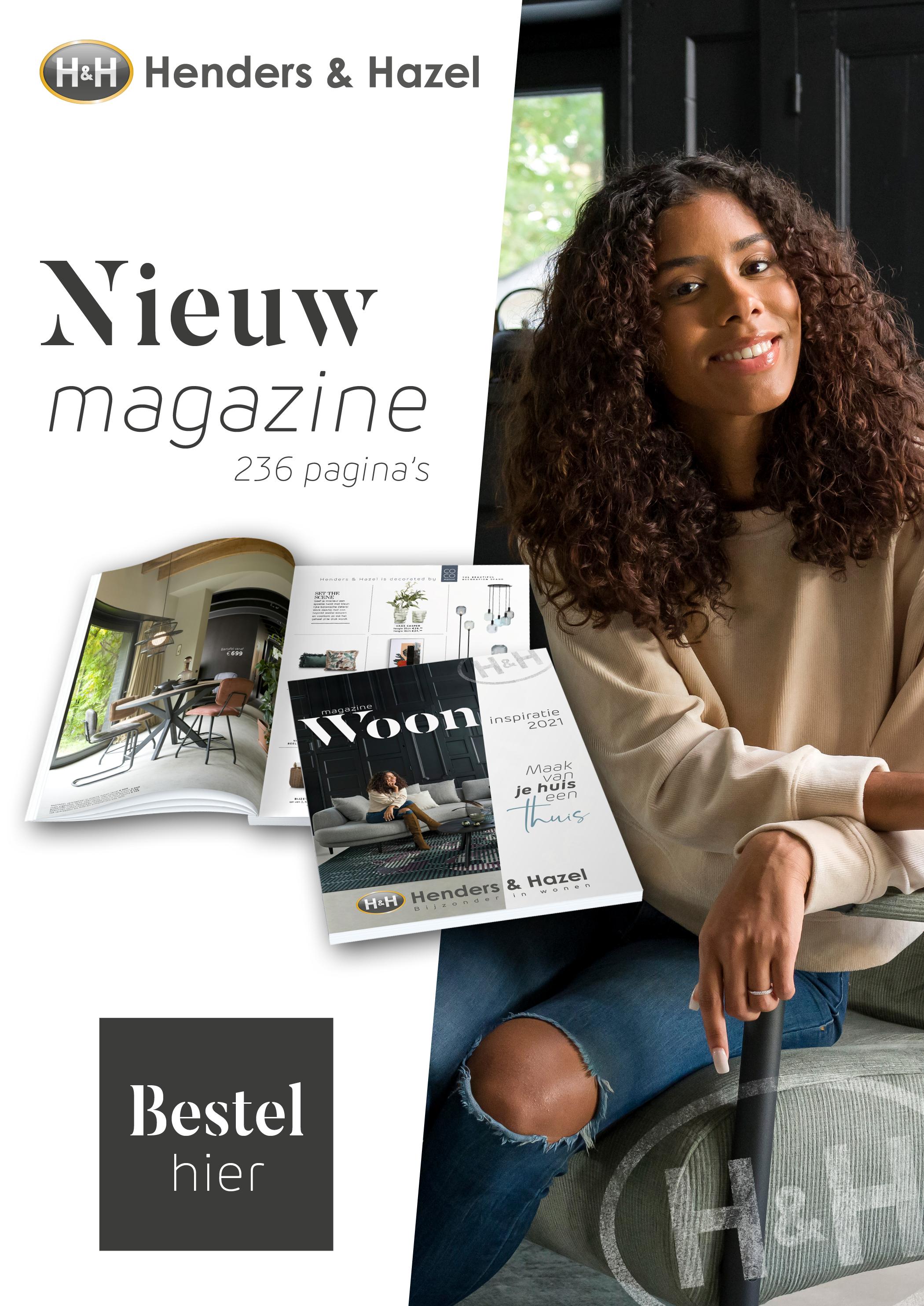 Woonmagazine Henders & Hazel #wooninspiratie #woonmagazine #magazine #interieur #hendershazel