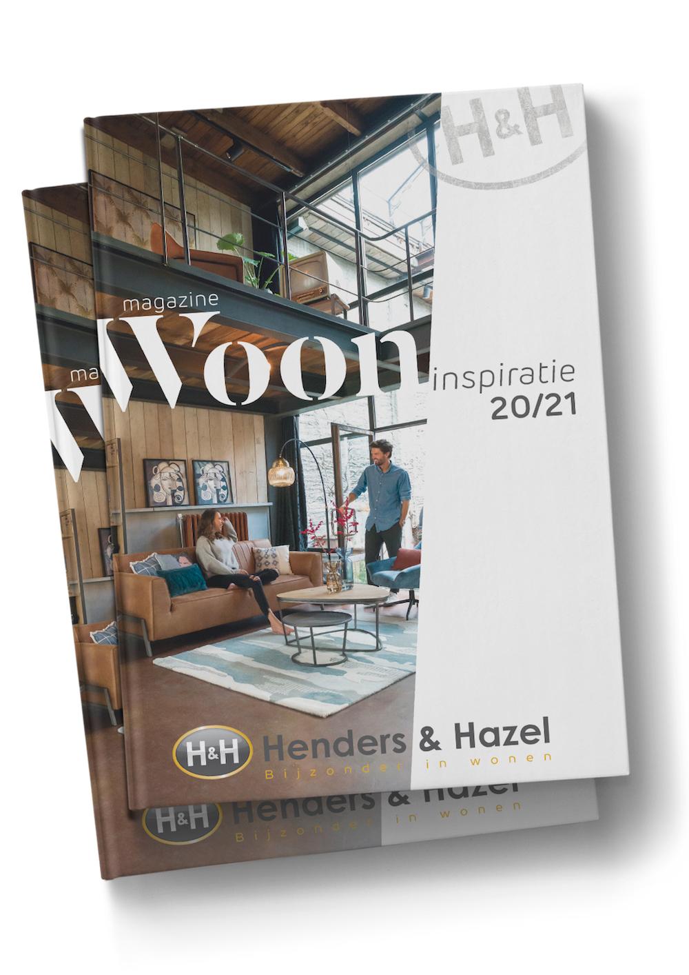 Gratis Henders & Hazel woonmagazine. Wonen inspiratieboek #woonmagazine #hendershazel #inspiratieboek #interieur