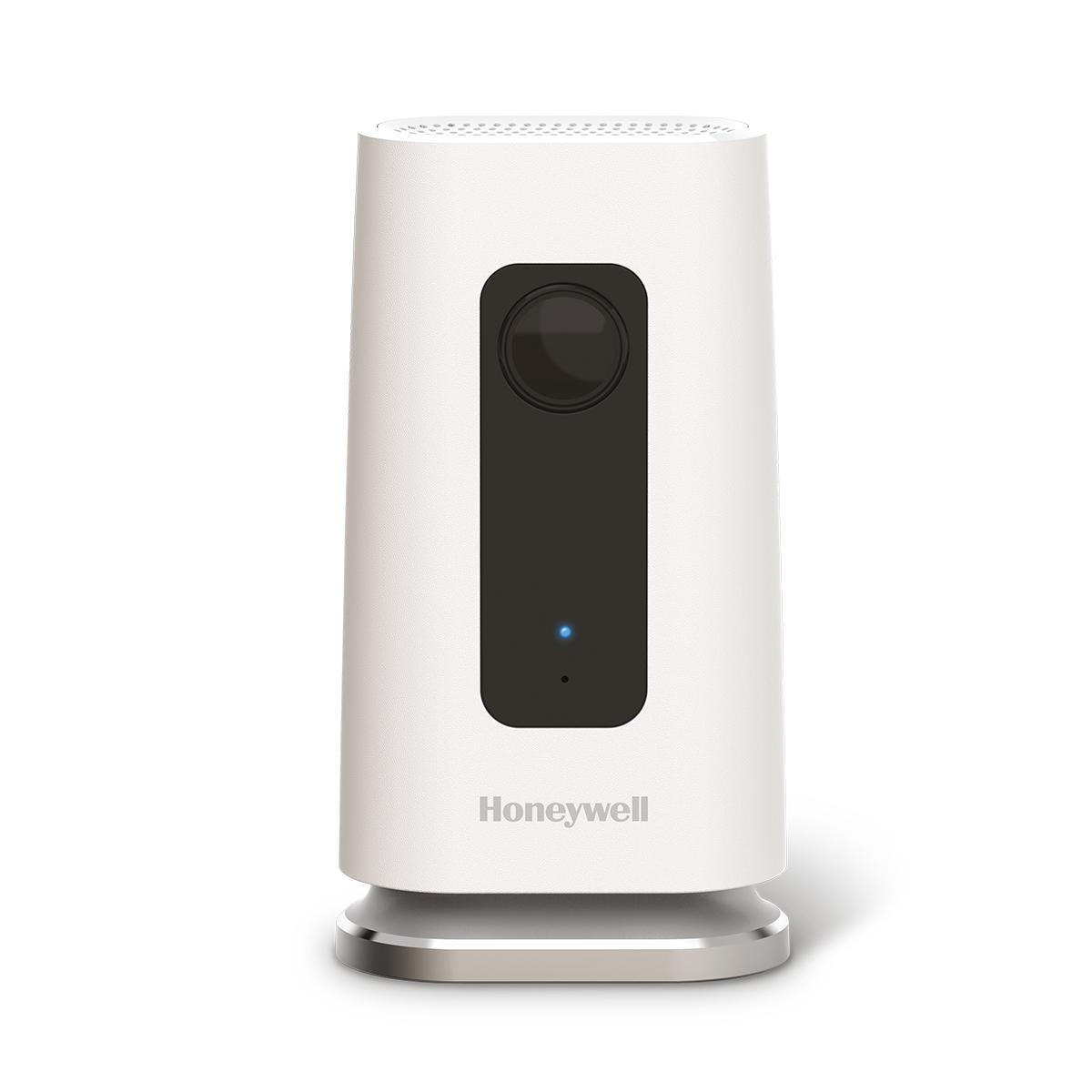 Wi-Fi beveiligingscamera C1 van Honeywell. Beveilig je huis met camera en blijf altijd op de hoogte via je smartphone of tablet ##woning #inbraakbeveiliging #camera #smartphone
