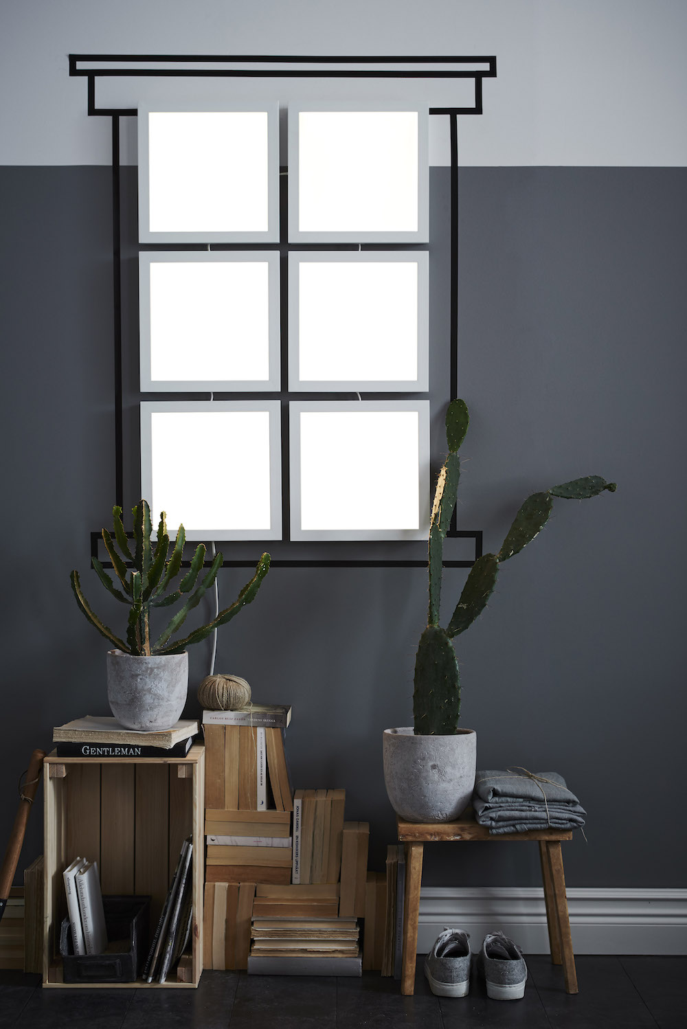 Ikea smart lighting collection - dimbare verlichting panelen