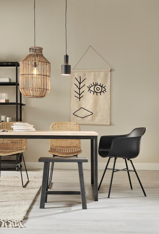 Interieurinspiratie. Eetkamer, eettafel mix & match #interieur #interieurinspiratie #karwei