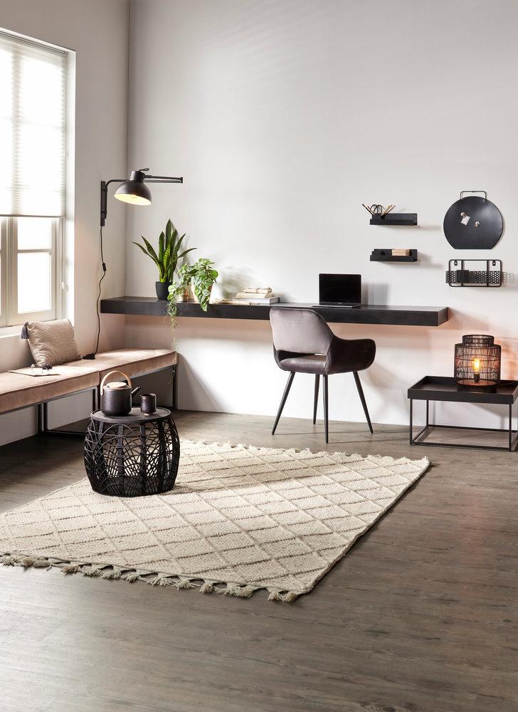 Interieurinspiratie. Thuiswerkplek: mix & match en maak een mooie plek om thuis te werken #interieur #interieurinspiratie #thuiswerken #thuiswerkplek #karwei