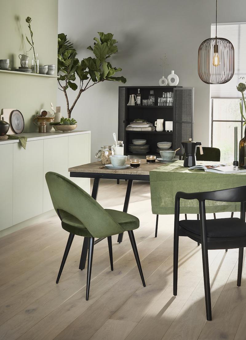 Najaarstrend: groen in het interieur #interieur #interieurinspiratie #groen #karwei
