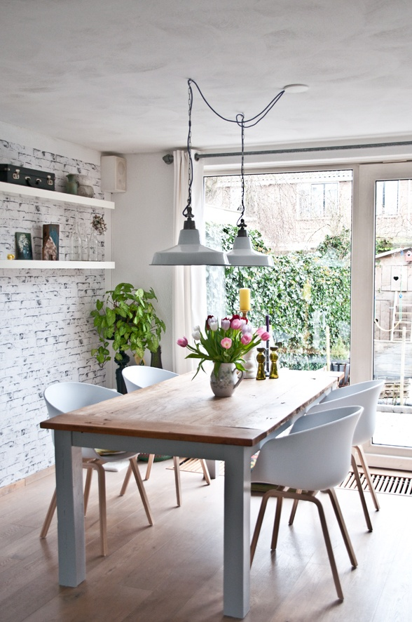 Stoere Lampen Keuken : Pendant Lights Over Dining Table