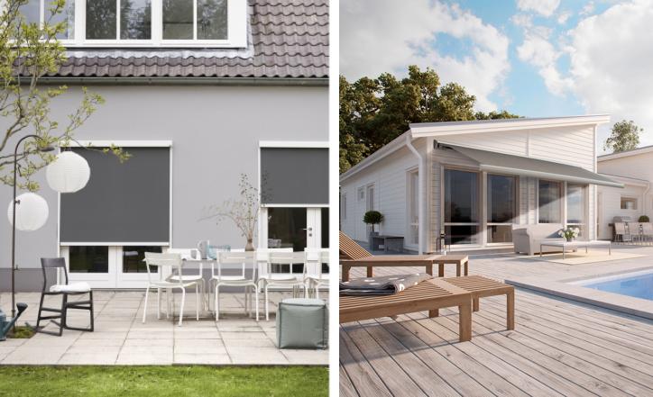 Luxaflex zonwering en screens #tuininspiratie #tuin #wonen #zonwering #luxaflex