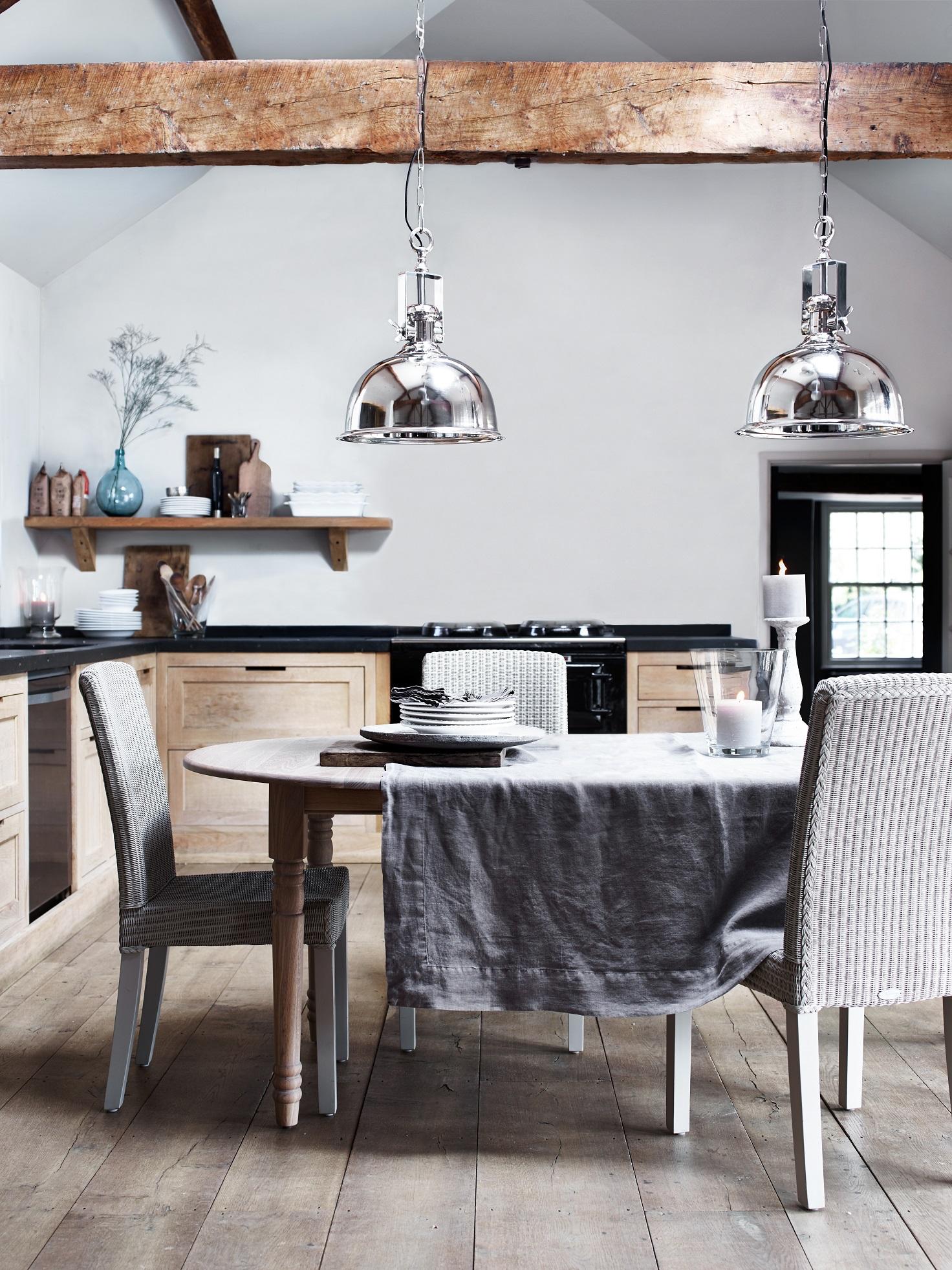 Verlichting Keuken Hanglamp : Lampen boven de keukentafel – Henley van Neptune #keuken