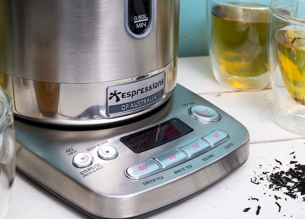 Smart kettle perfect kopje thee