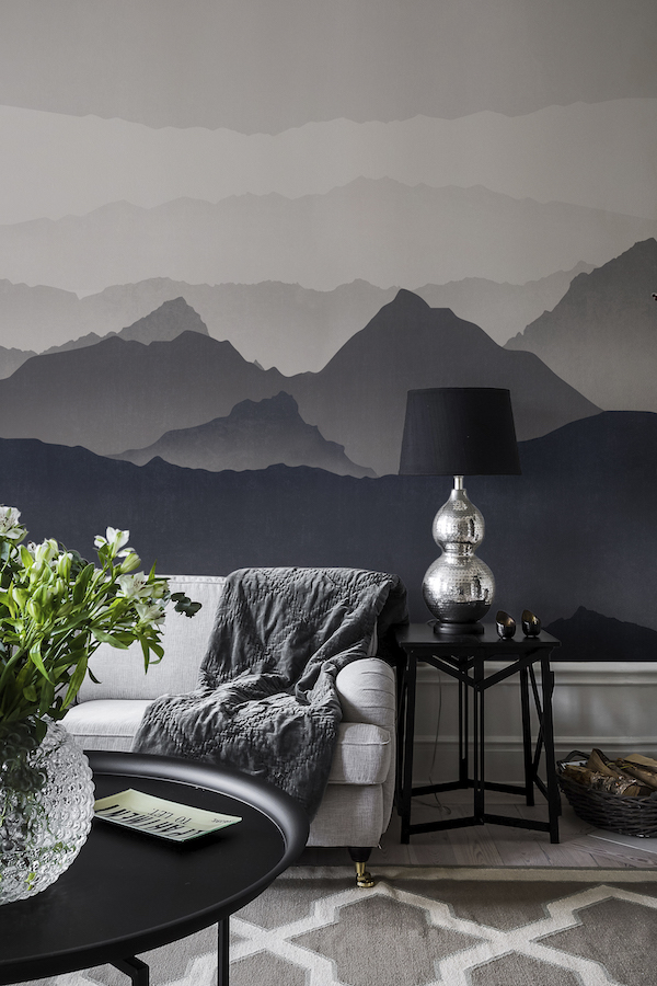 Misty landscape Photowall