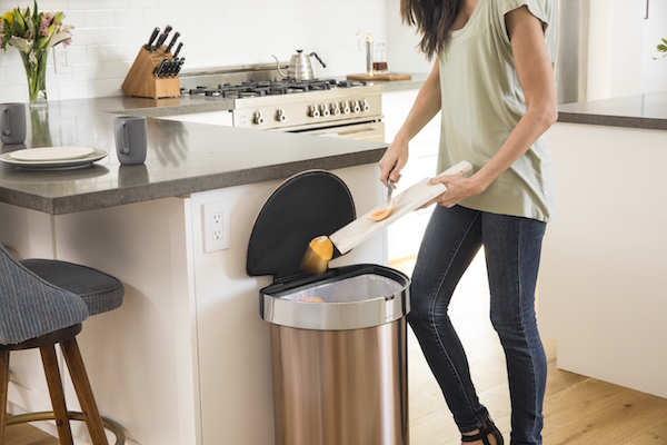 Simple human afvalbakken