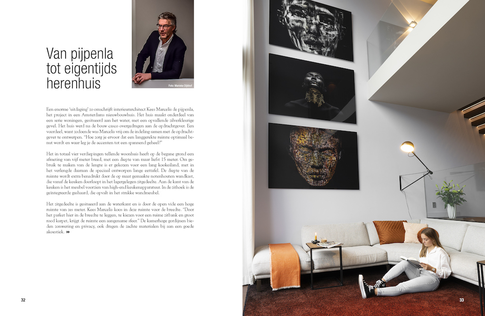 Interieur architect Kees Marcelis. Woonboek #woonboek #keesmarcelis #interieur #koffietafelboek