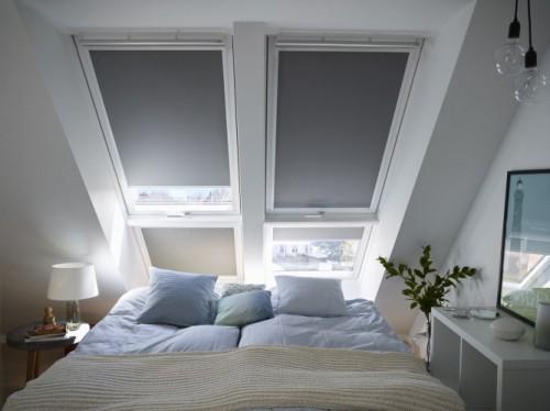 Velux verduisterende rolgordijnen en insectenhorren voor de slaapkamer #slaapkamer