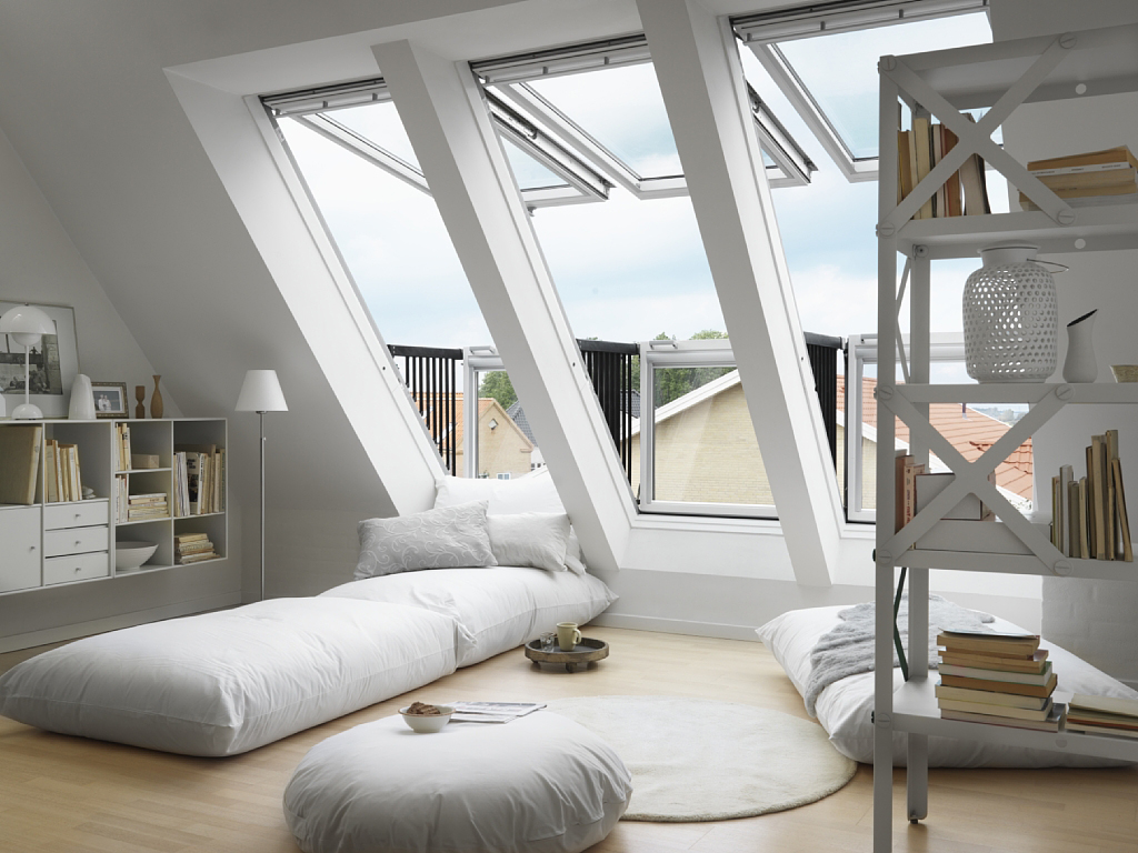 Velux balkonvensters