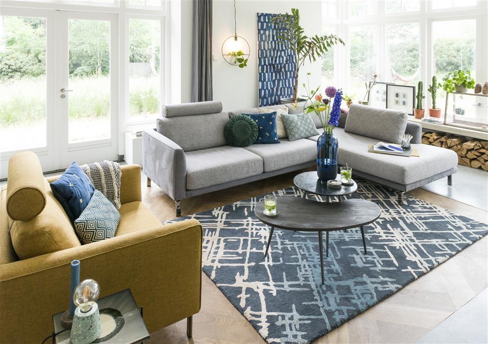 Interieur met Xooon designsofa Vigo #interieurinspiratie #interieur #zithoek #sofa #zitbank #xooon #meubels
