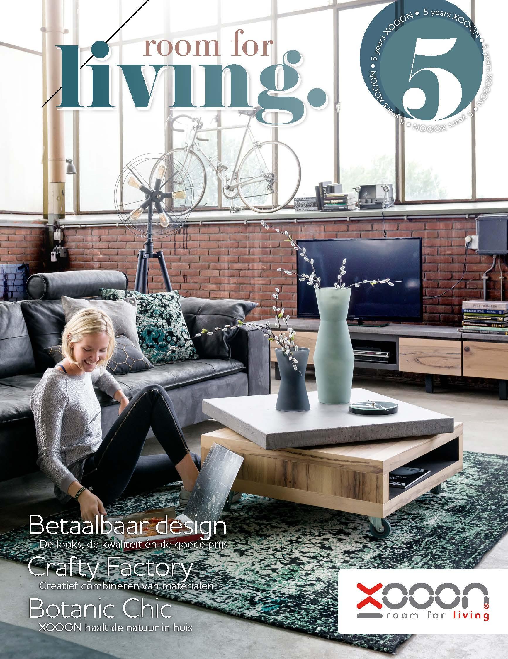 Wonderbaar Bestel hier het nieuwe gratis XOOON lookbook!... - UW-woonmagazine.nl JN-39