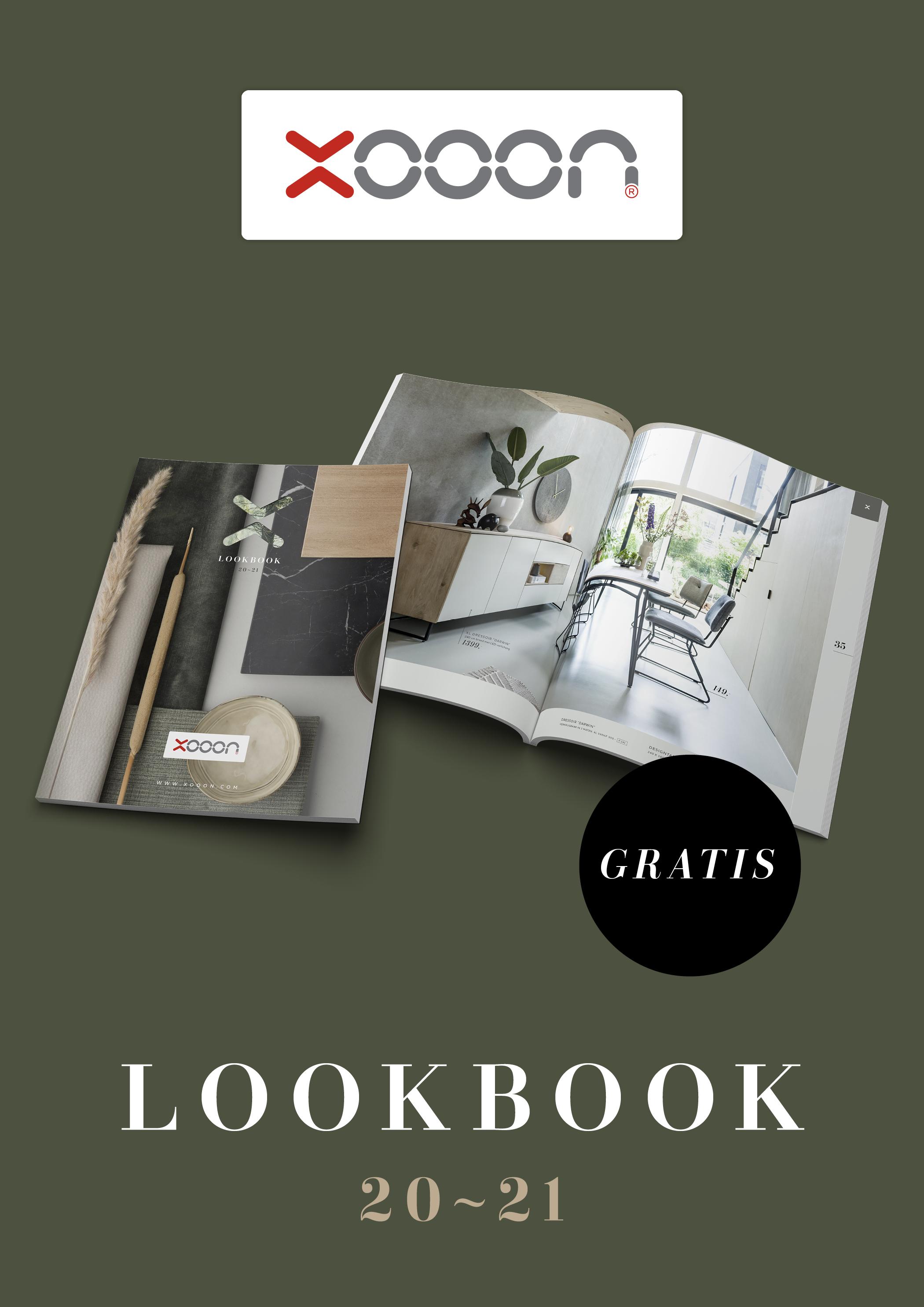 Inspiratie. Bestel gratis XOOON lookbook #xooon #lookbook #designmeubelen