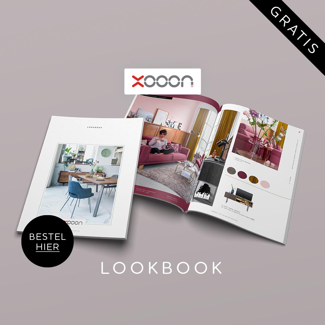 Bestel hier het gratis XOOON Lookbook voor interieurinspiratie