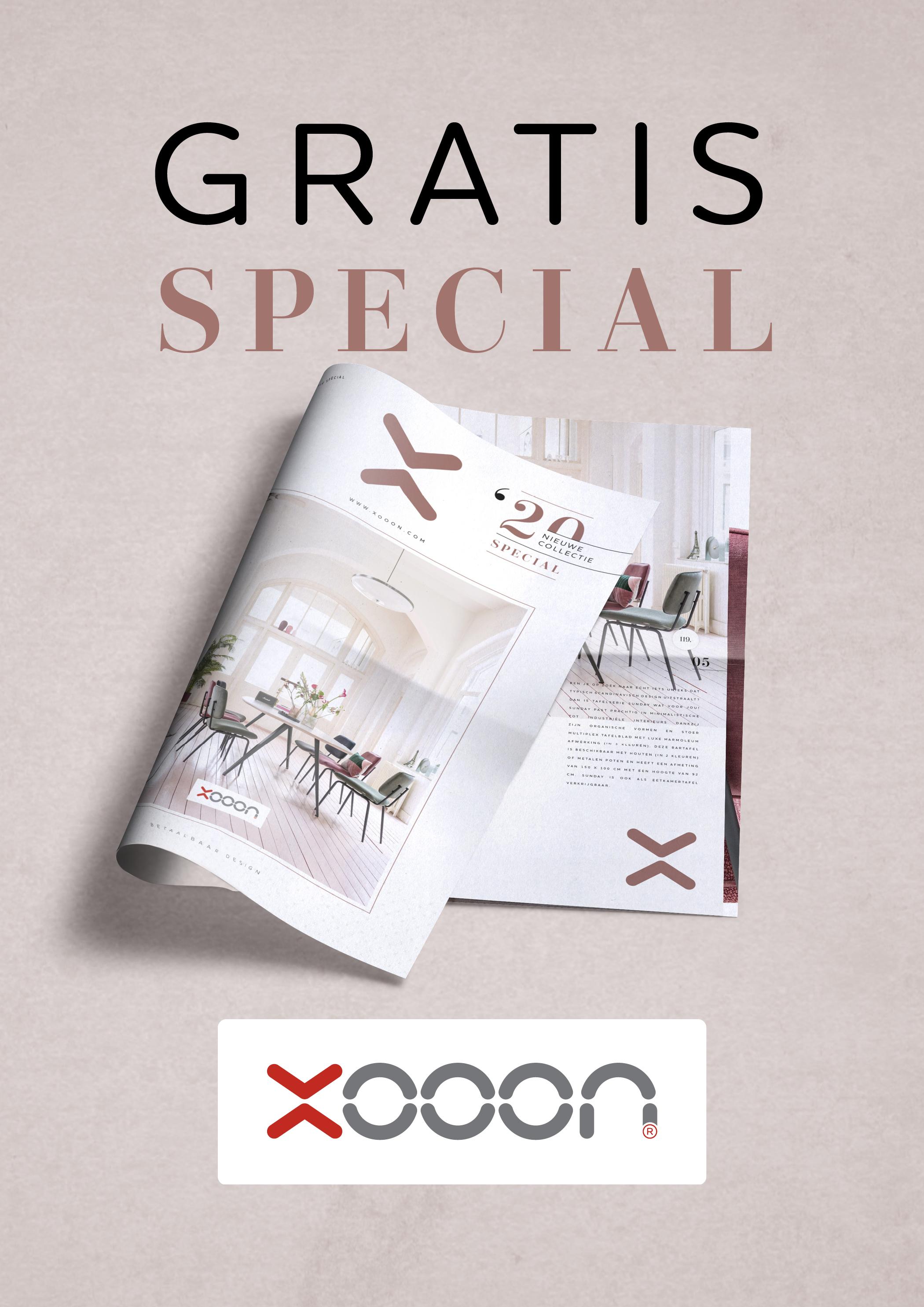 Xooon designmeubels. Vraag de Special Nieuwe Collectie aan en ontvang het lookbook gratis #XOOON #interieur #special