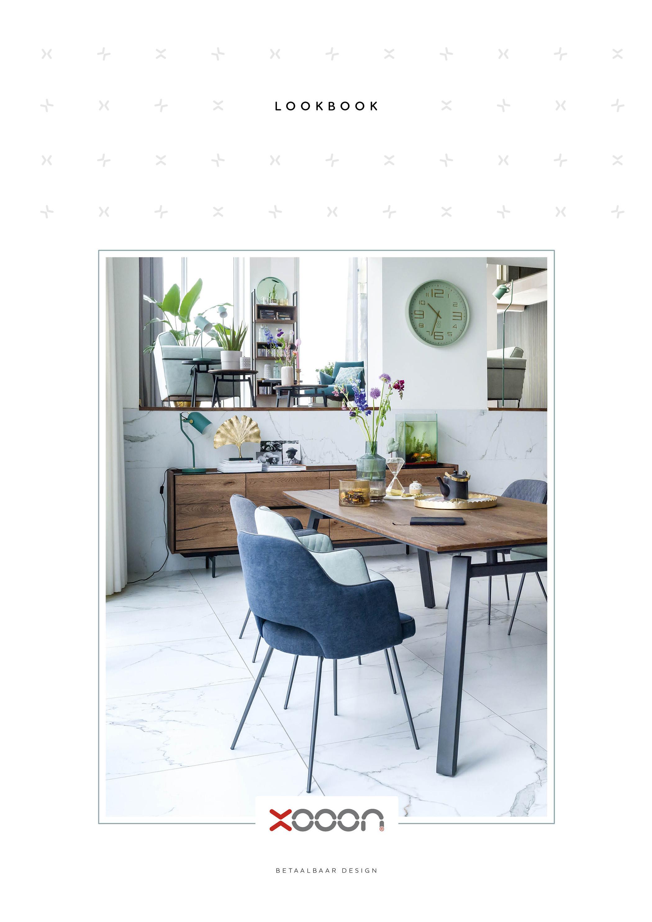 Xooon meubels. Vraag het gratis lookbook aan ter inspiratie