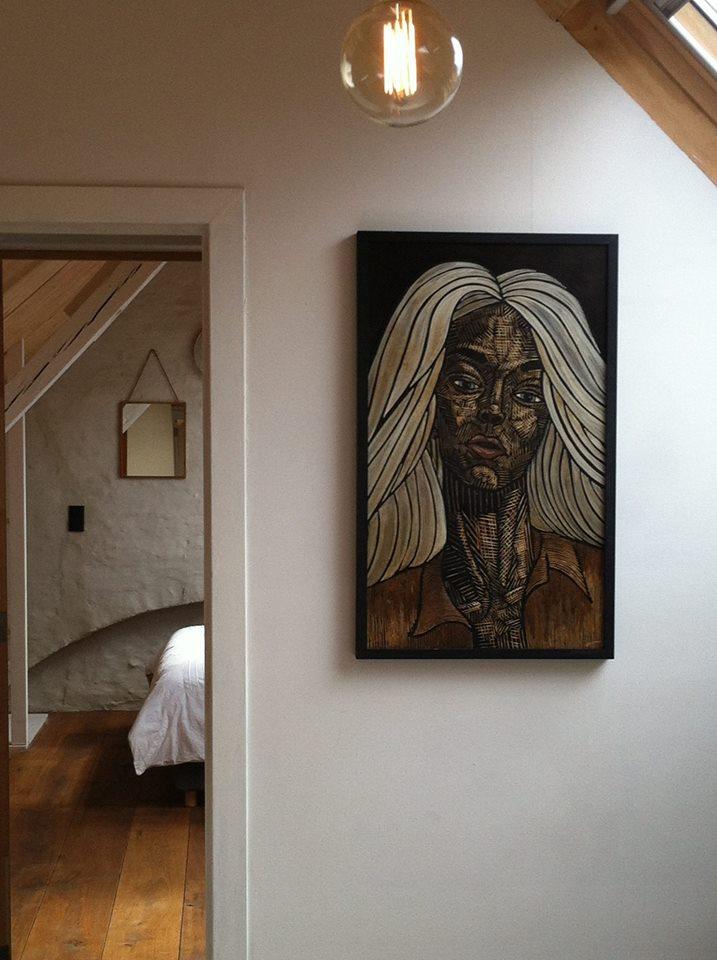Interieur van CSAR Guesthouse in Brugge Belgie