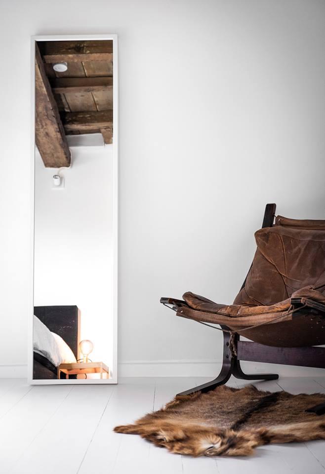 Interieur van CSAR Guesthouse in Brugge Belgie #scandinavisch #interieur