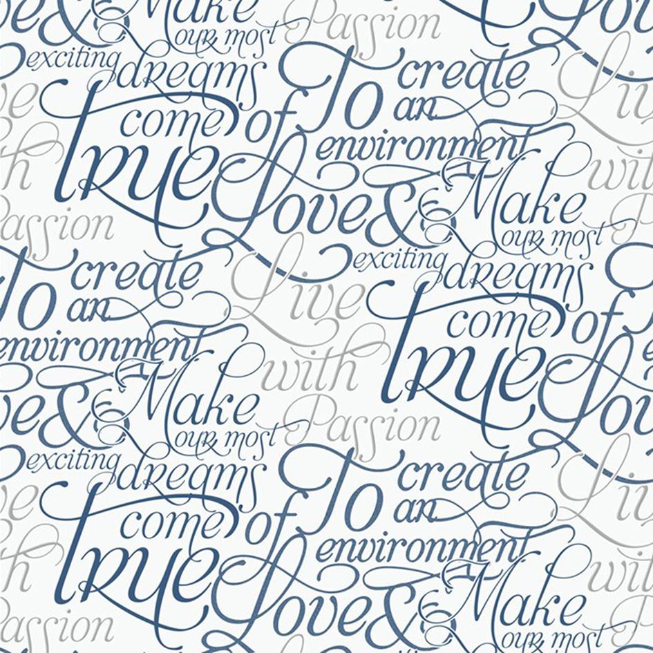 Behang met teksten - Marcel Wanders