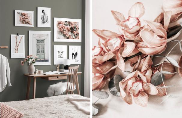 Thuiswerkplek inrichten. Home office. #desenio #thuiswerkplek #werkplek #wanden