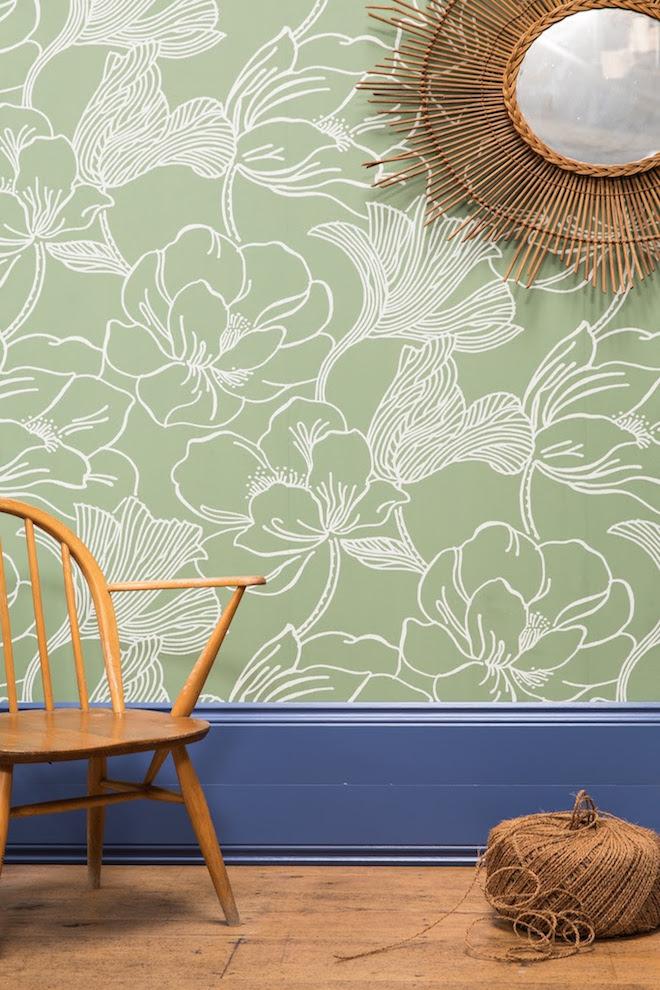 De lente in kleuren op de muur nieuws startpagina voor for Interieur kleur