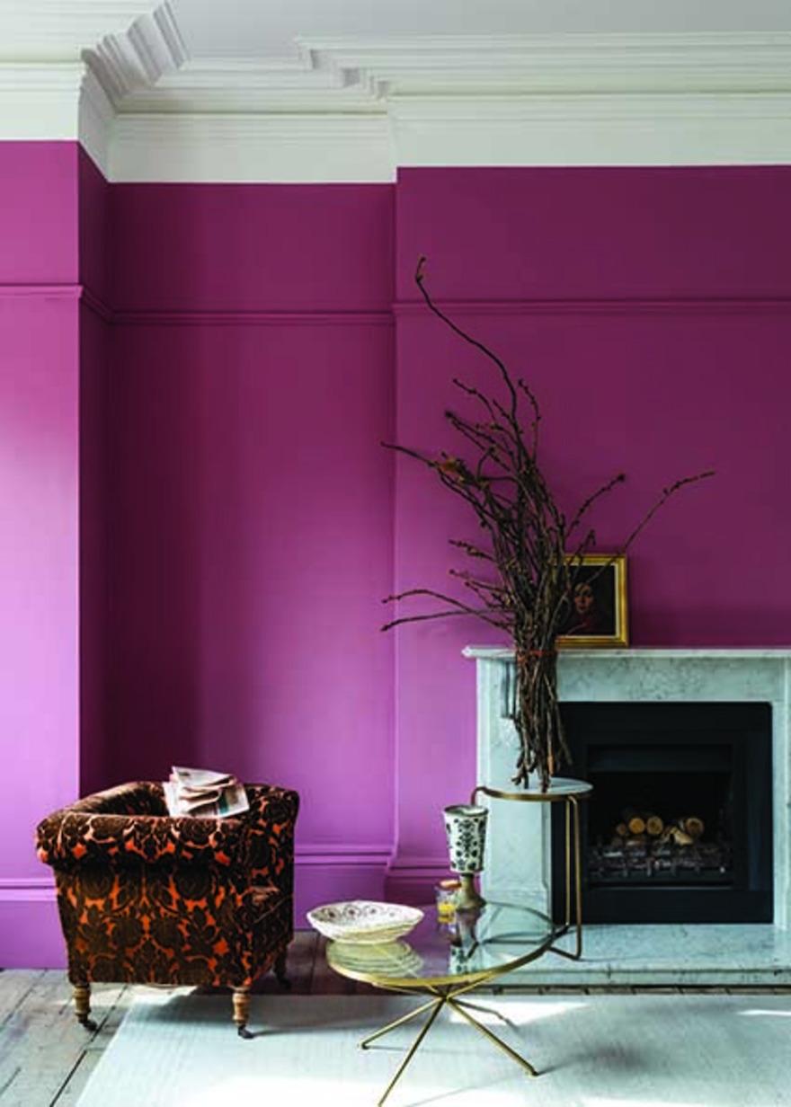 Nieuwe verfkleuren voor je interieur van Farrow & Ball: roze rangwali #interieur #interieurinspiratie #muurverf #kleur #farrowball