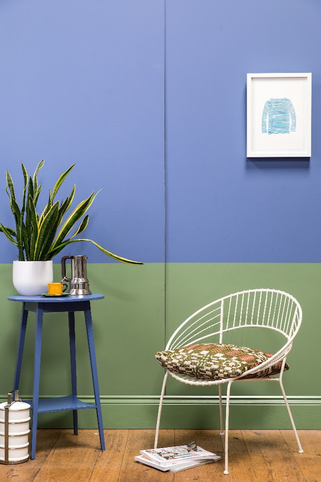 De lente in kleuren op de muur nieuws startpagina voor for Interieur design ideeen