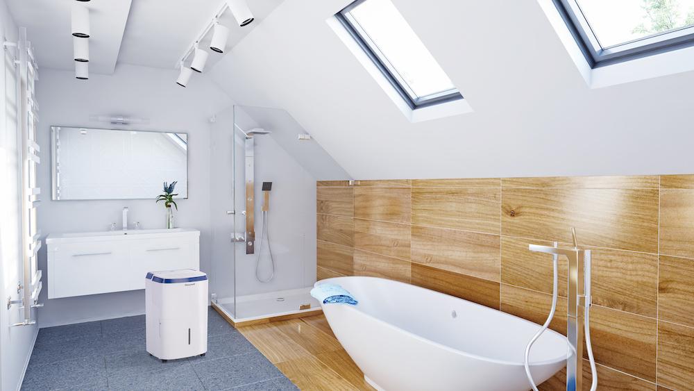 Gezond wonen met een gezond binnenklimaat zonder vocht, schimmel en muffe geurtjes #binnenklimaat #gezond #wonen #badkamer
