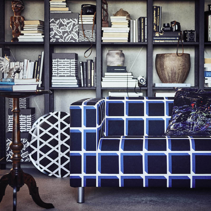 Leren Klippan Bank Ikea.Knallende Nieuwe Ikea Collectie Vol Retroprin Uw Woonmagazine Nl
