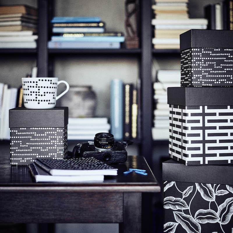 IKEA Avsiktlig limited collectie - servies met stippen #ikea