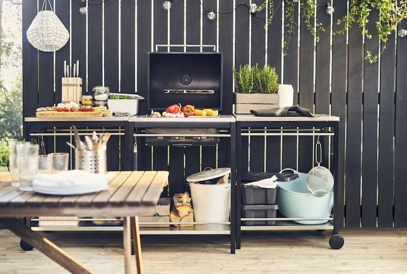 Ikea bbq set