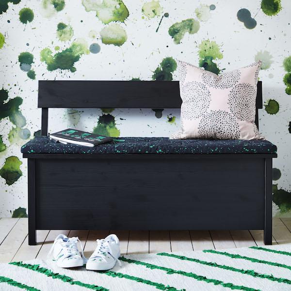 Ikea houten bank