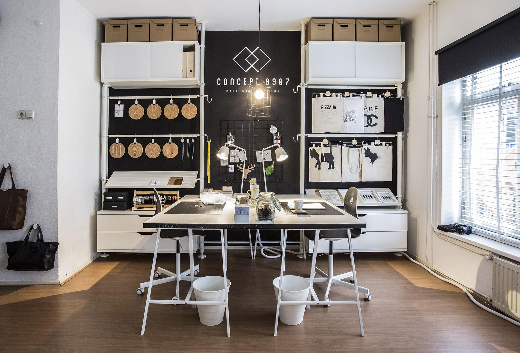 Tips voor de inrichting van je thuiswerkplek nieuws for Kantoor interieur ideeen