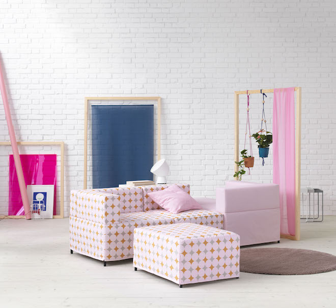 Ikea kleurrijke flexibele basics