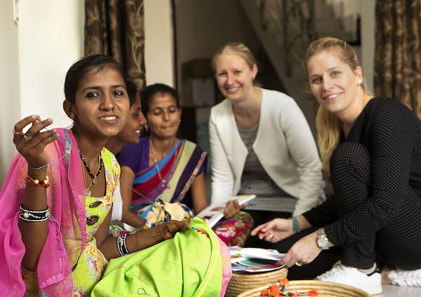 Samenwerking met indiase vrouwen een succes nieuws for Woonmagazines nederland