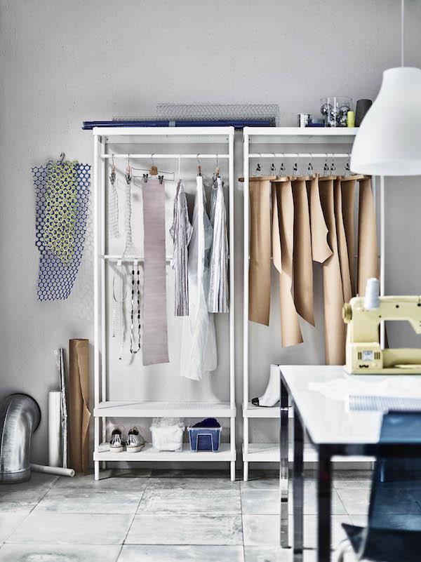 Jassen en schoenen uit IKEA