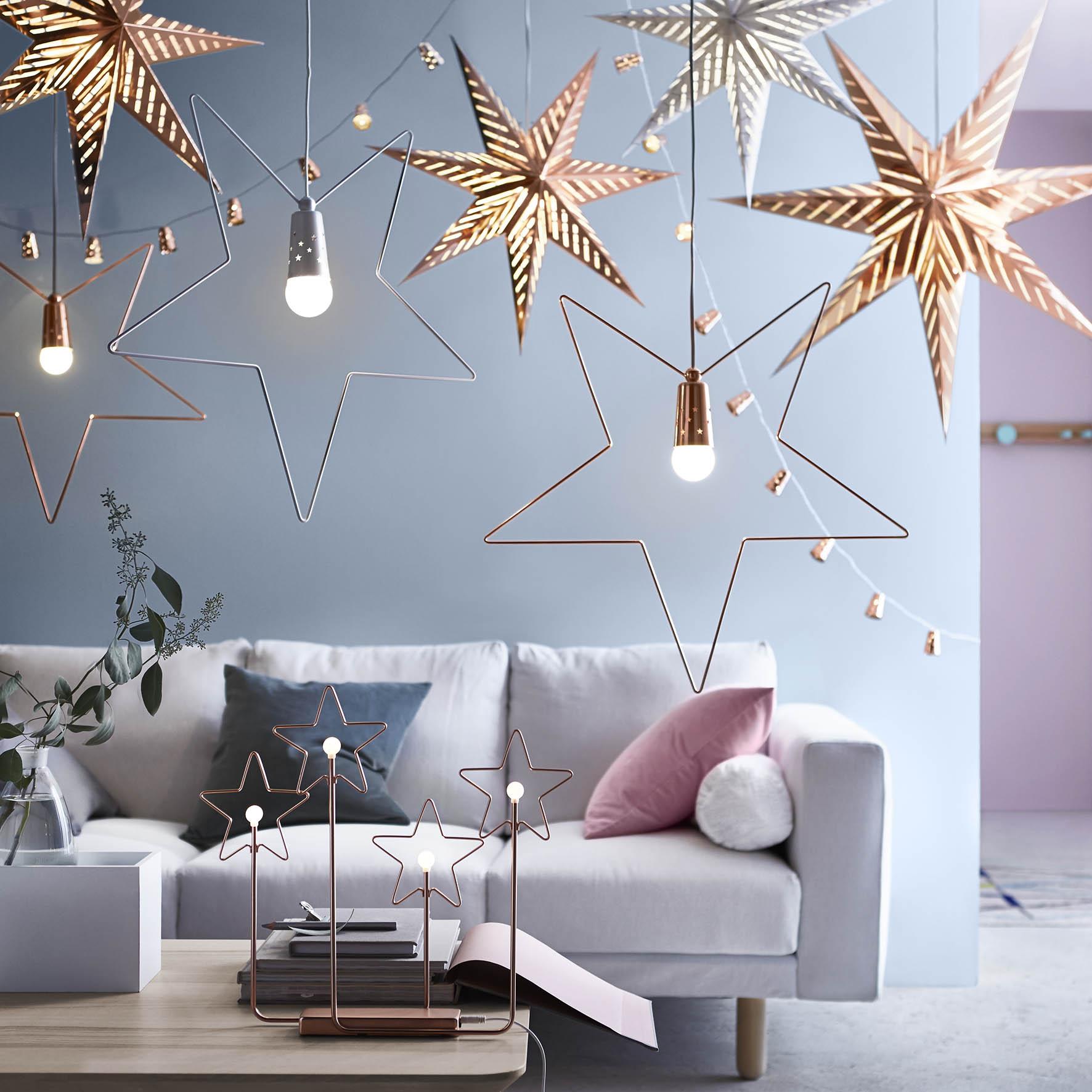 Sfeervolle accessoires voor de kerst van ikea nieuws startpagina voor interieur en wonen - Versier het huis ...