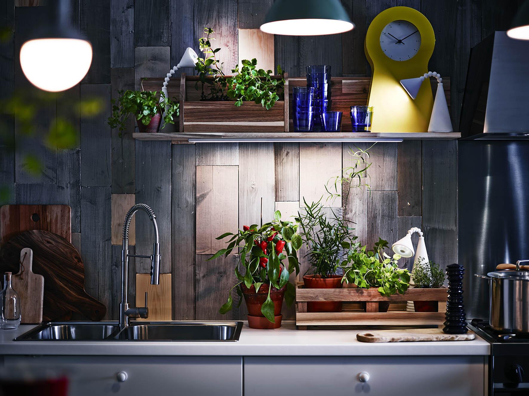 IKEA LED verlichting OMLOPP voor werkblad keuken