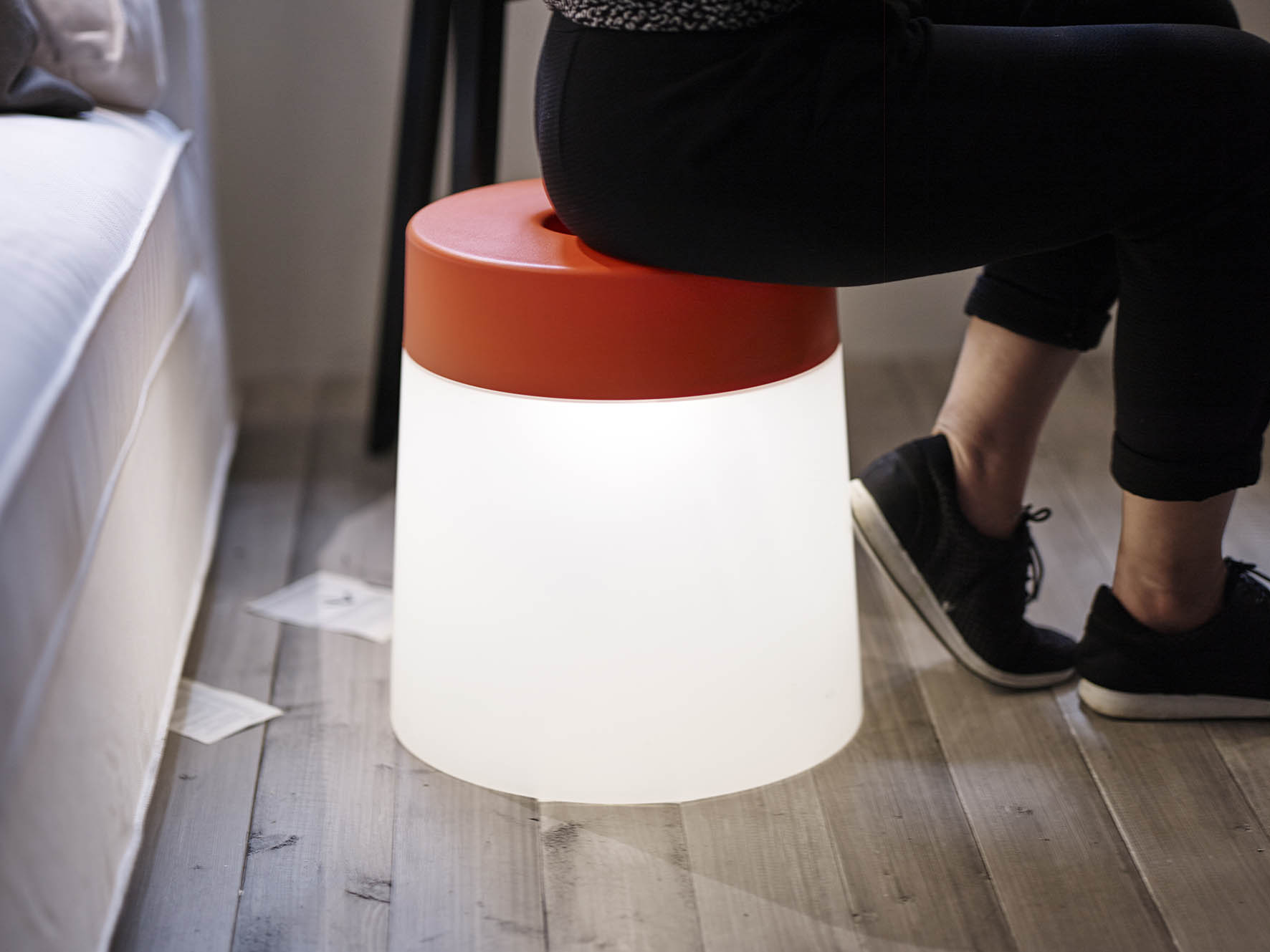 IKEA stoel met LED verlichting