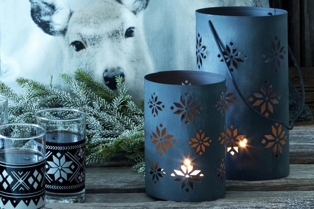 Warme winterse interieur accessoires ISGATA #kussens #kaarsen #ikea